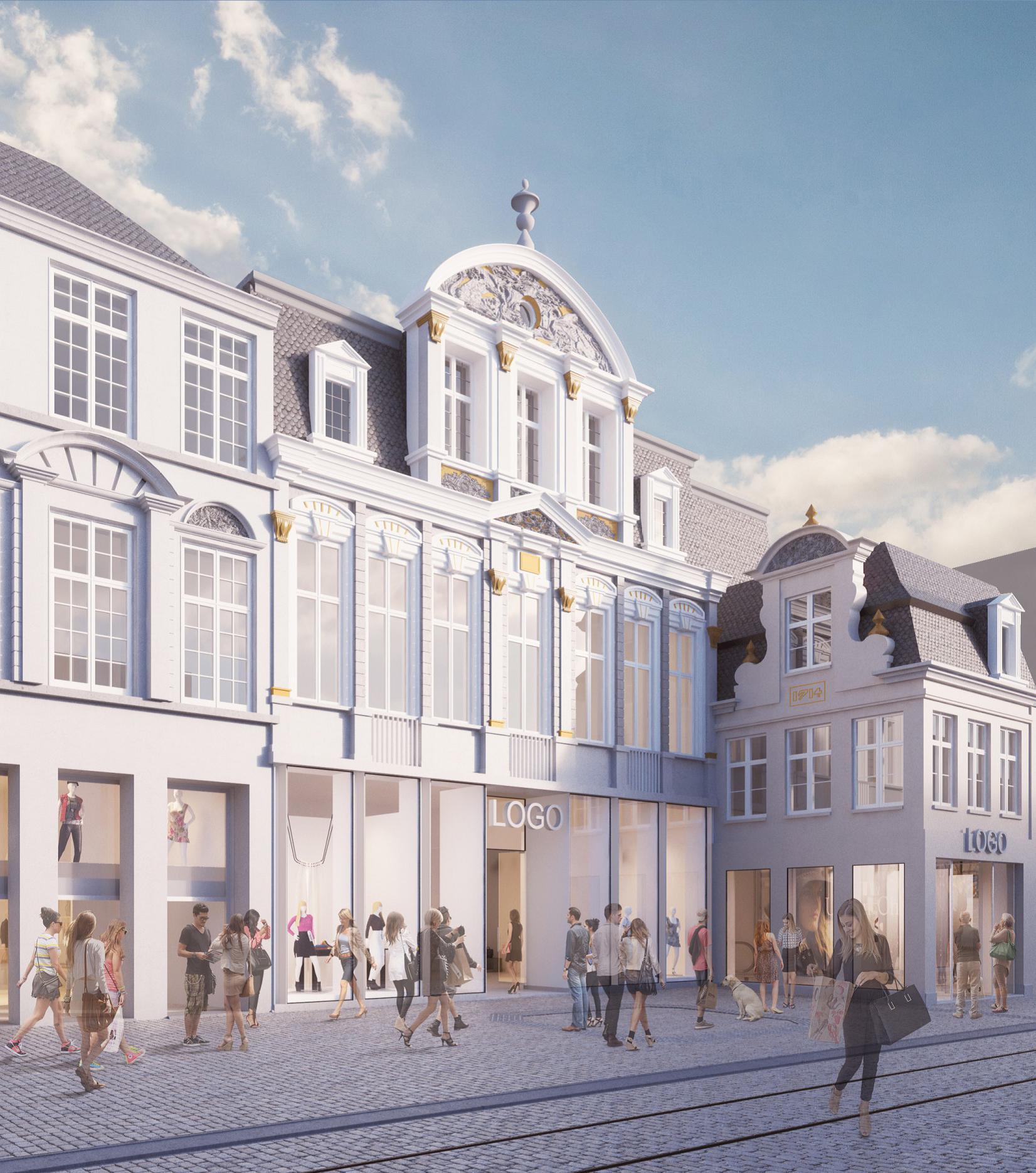 Abscis - Hotel Veldstraat Gent